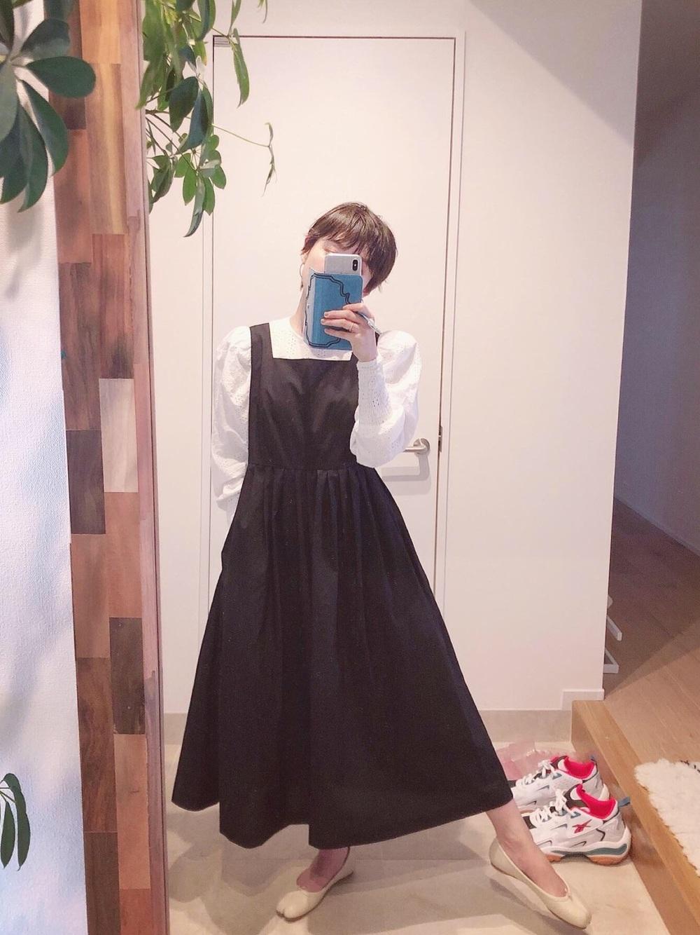 高橋愛ジャンパースカート